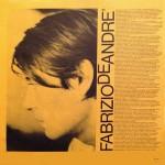 Tutti Morimmo a Stento - Fabrizio De André - 40.98