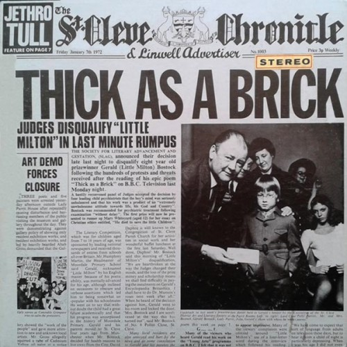Thick as a Brick - Jethro Tull - 81.97