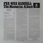 The Memorial Album - Pee Wee Russell - 14.75