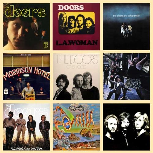 9 dischi - The Doors - Collezione - The Doors - 721.31