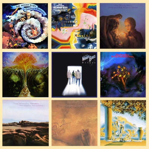 9 dischi The Moody Blues - Collezione - The Moody Blues - 274.59