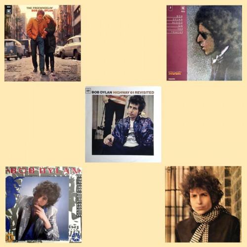 5 dischi - Bob Dylan -  - 188.52